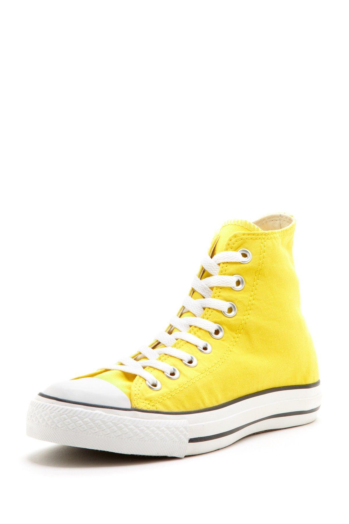 c21e8f1df622 canary yellow converse sneaker! LUV! Flats