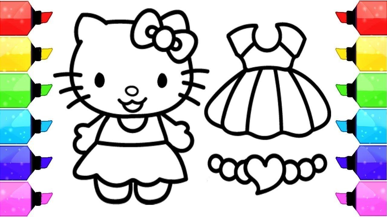 Hello Kitty Coloring Videos Hello Kitty Coloring Videos Hello Kitty Colouring Pages Kitty Coloring Hello Kitty Drawing