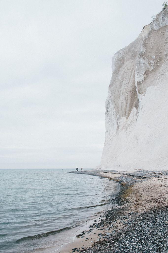 Mons Klint in Zealand, Denmark /// #wanderlust #travel #beach