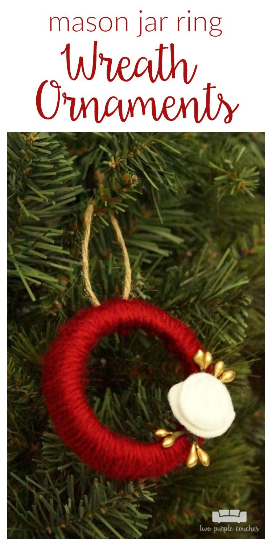 32+ Mason jar ring christmas crafts information
