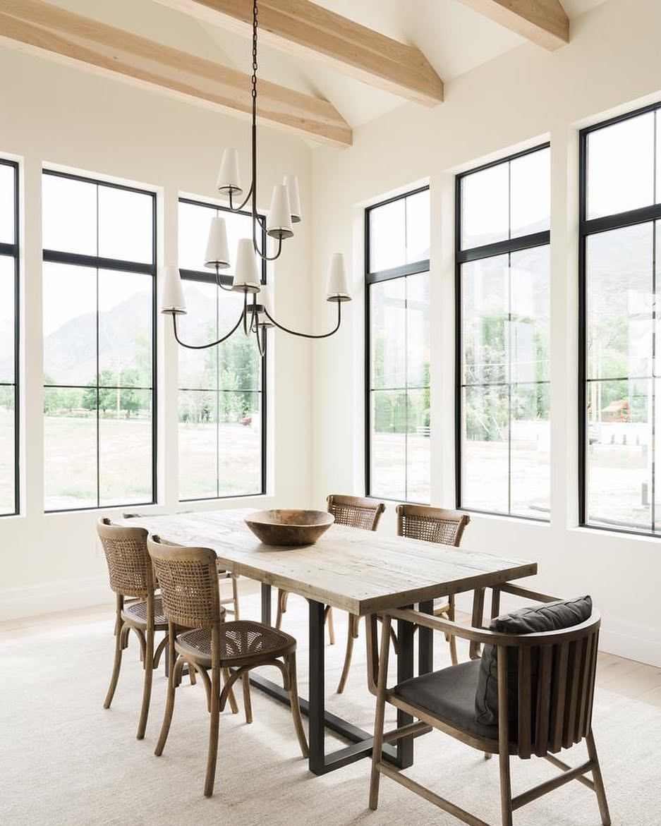 My Dining Room Is All About Simplicity The Kind Of Space Where You