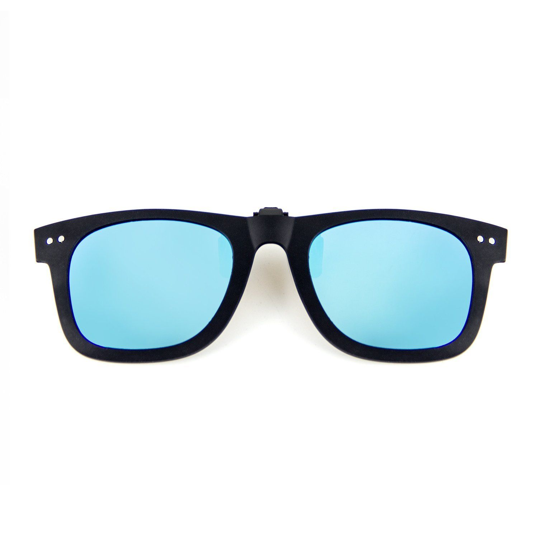 013677cdefa0 Cyxus Clip On Polarized Sunglasses [Blocking UV] Classic Sun Glasses for  Men/Women