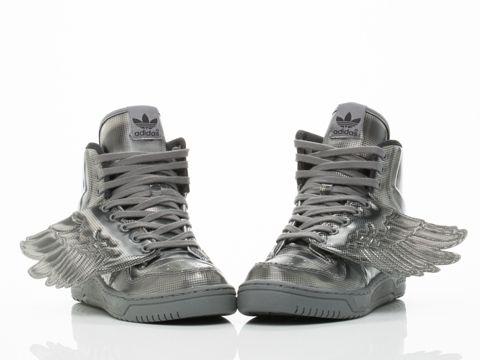 Adidas Originals X Jeremy Scott JS Wings Molded in Black Black at  Solestruck.com
