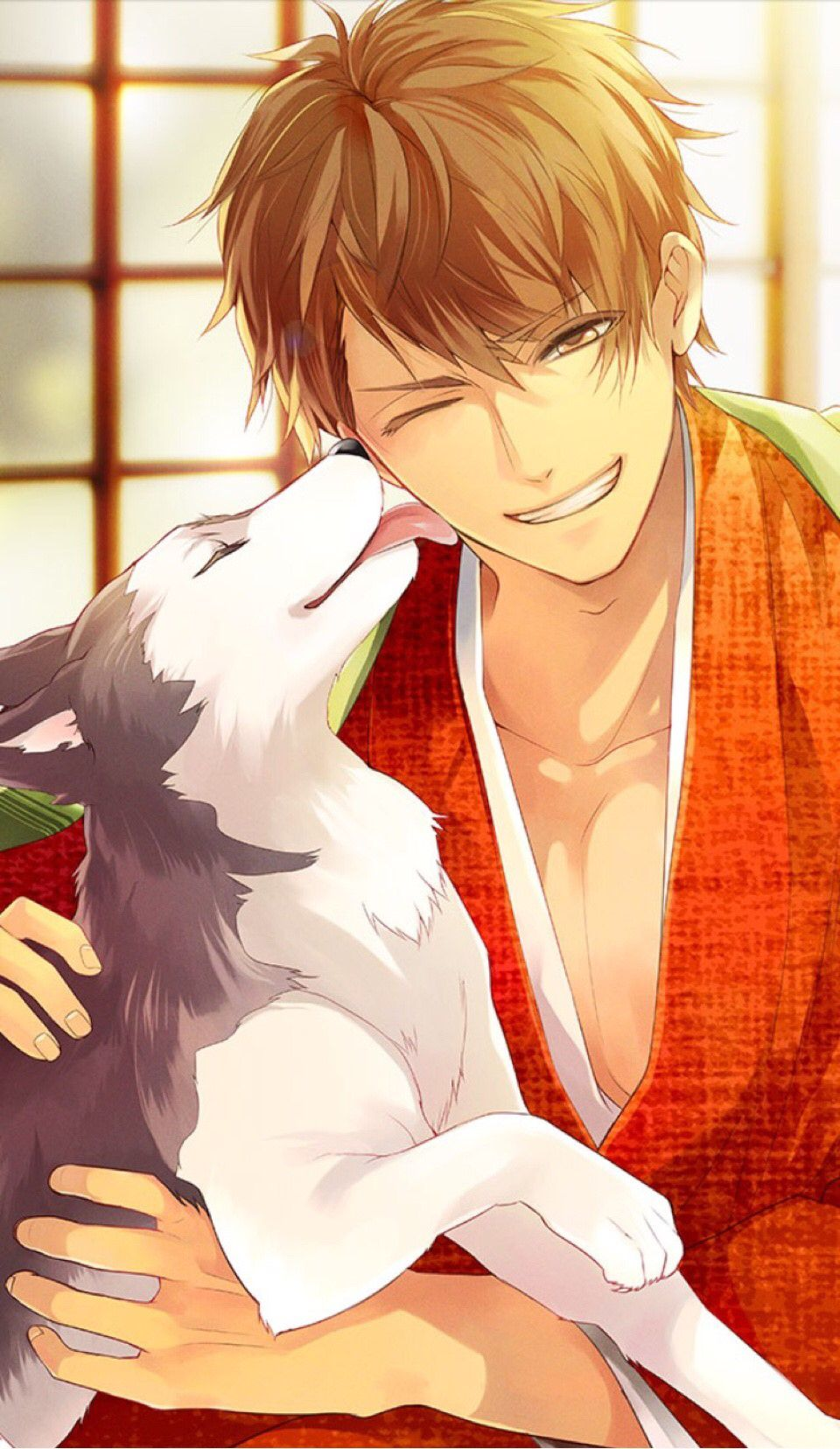 Pin by Nadia Singh on 이케맨 | Anime puppy, Anime, Cool anime guys