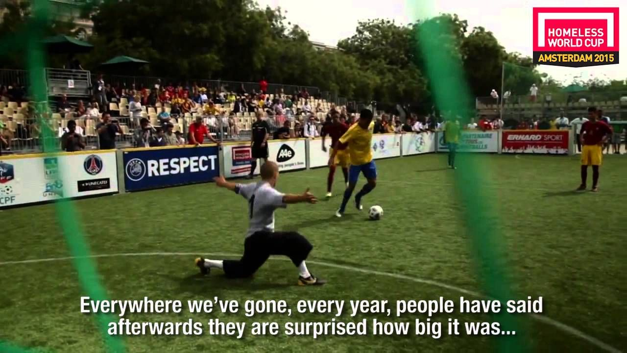 Homeless World Cup 2015 Amsterdam - Promo