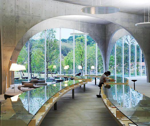 Tama Art University Hachiouji Tokyo Japan Library Was