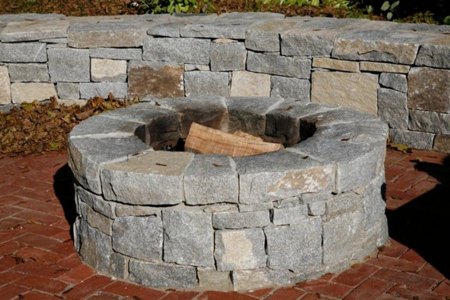 wood burning patio fire pits. Outdoor Stone Fire Pit Kits And Inserts Wood Burning Patio Pits
