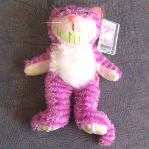 0a65efdf485 BK2-047 Cheshire Cat Rare with glow in the dark paws