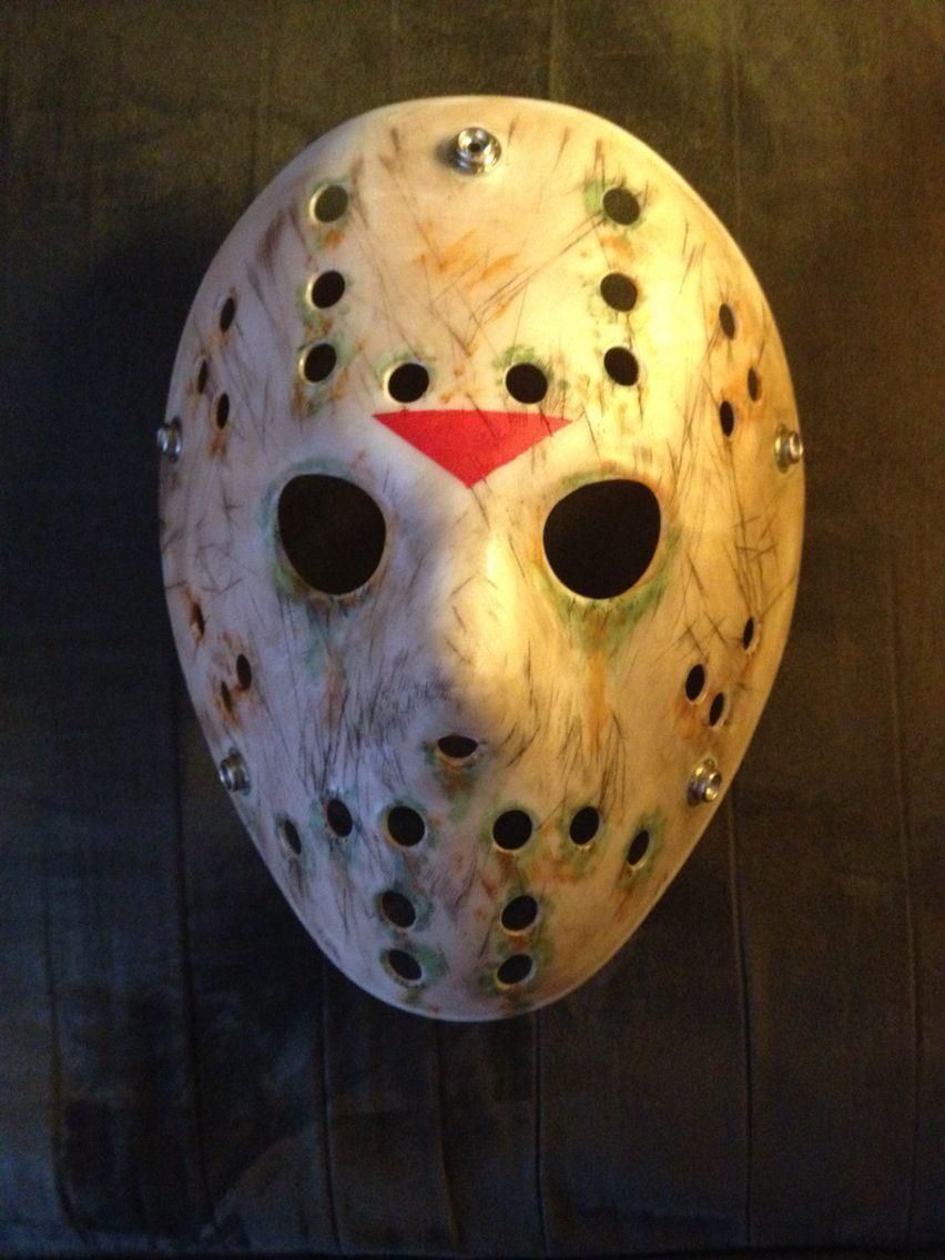Jason mask I painted