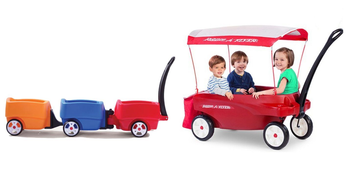 Wagons for Multiples or Large Families