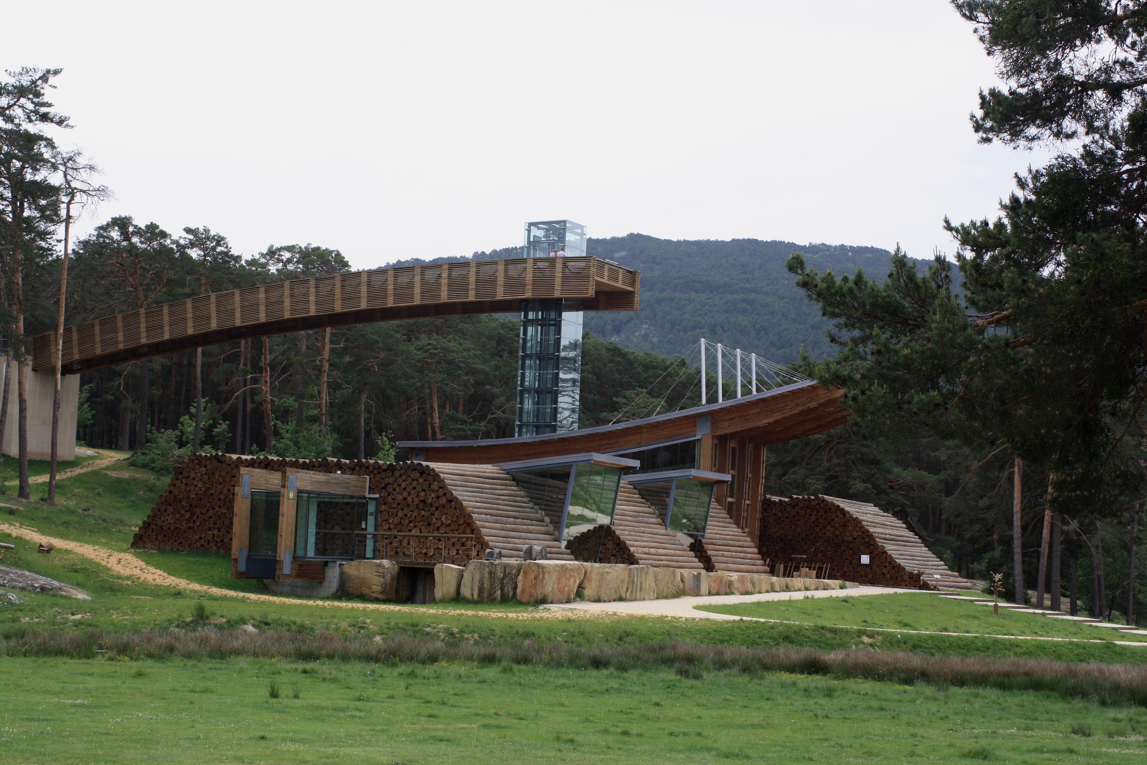La casa de la madera en quintanar de la sierra pinares - Casa de madera espana ...