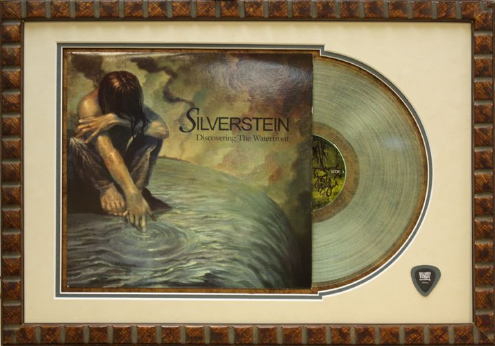 Silverstein Record put in a custom shadow box frame at Art and Frame ...
