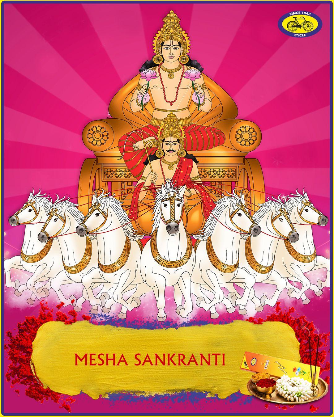 Mesha Sankranti In 2020 Pure Products Hindu Gods Durga Goddess