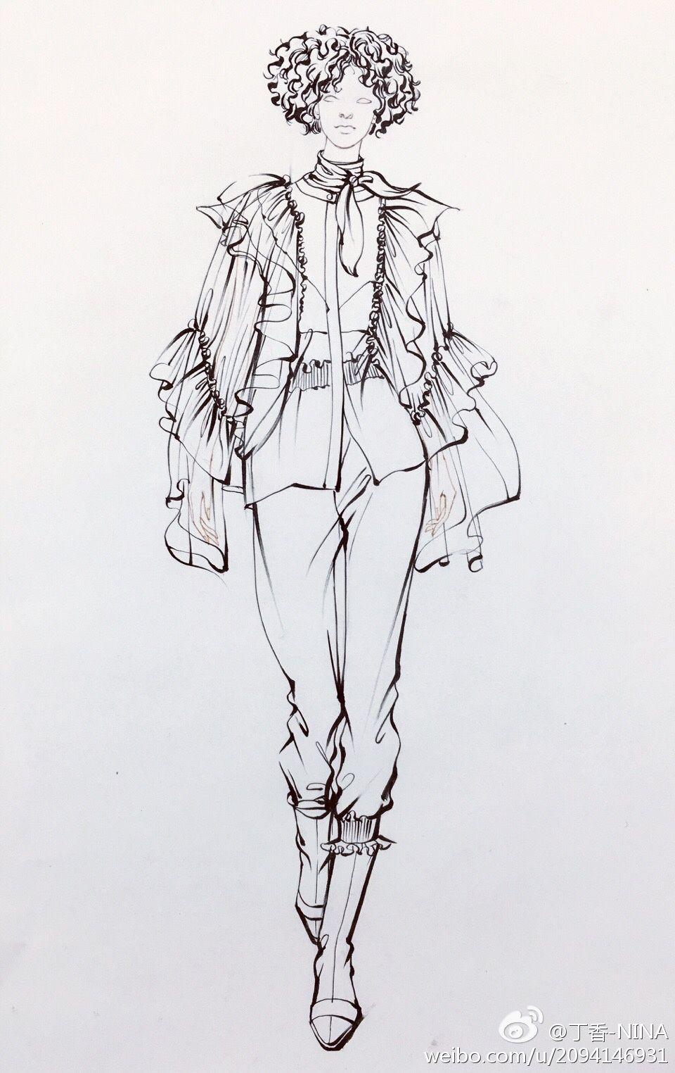 Pin von Cristina Rodriguez auf Graphic | Pinterest | Modezeichnungen ...