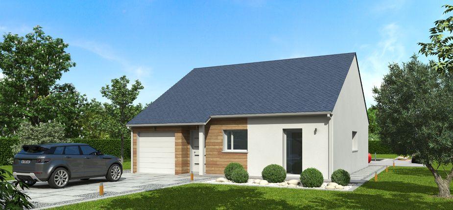 le modèle natirena ardoise découvrez le modèle de maison ossature ... - Modele De Maison En L