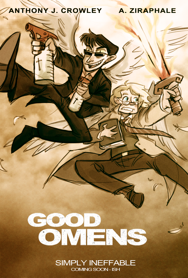 Good Omens: The Other Guys by animagess on DeviantArt