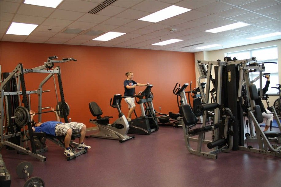 Ordinary Weight Room Design Ideas Part - 4: Excellent Home Fitness Room Design With Amazing Weight Lifting Equipment  Andu2026