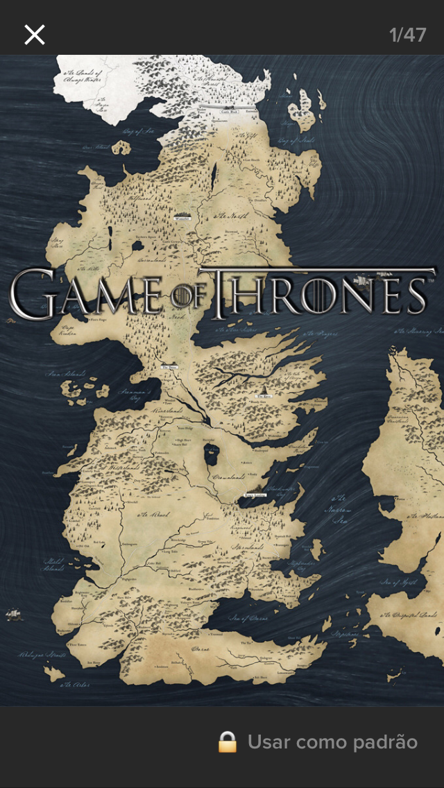 Pin by joana giese on game of thrones pinterest game of thrones stampa a parete con mappa 60 x 80 cm gumiabroncs Choice Image