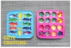 Crafting and Creativity: Cute Crayons
