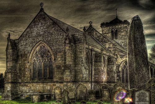 Rudston Church and Monolith