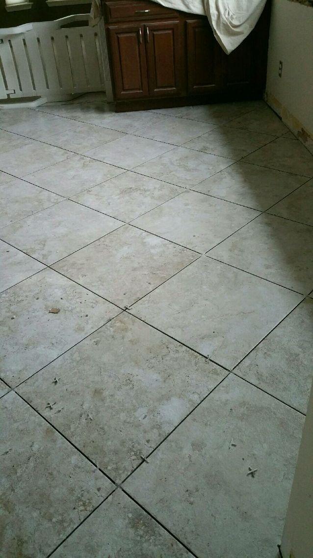20x20 Tile Laid On The Diagonal Tiles Stone Flooring Flooring