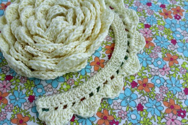 Raising Up Rubies Crocheted Edging Pattern I Like The Idea