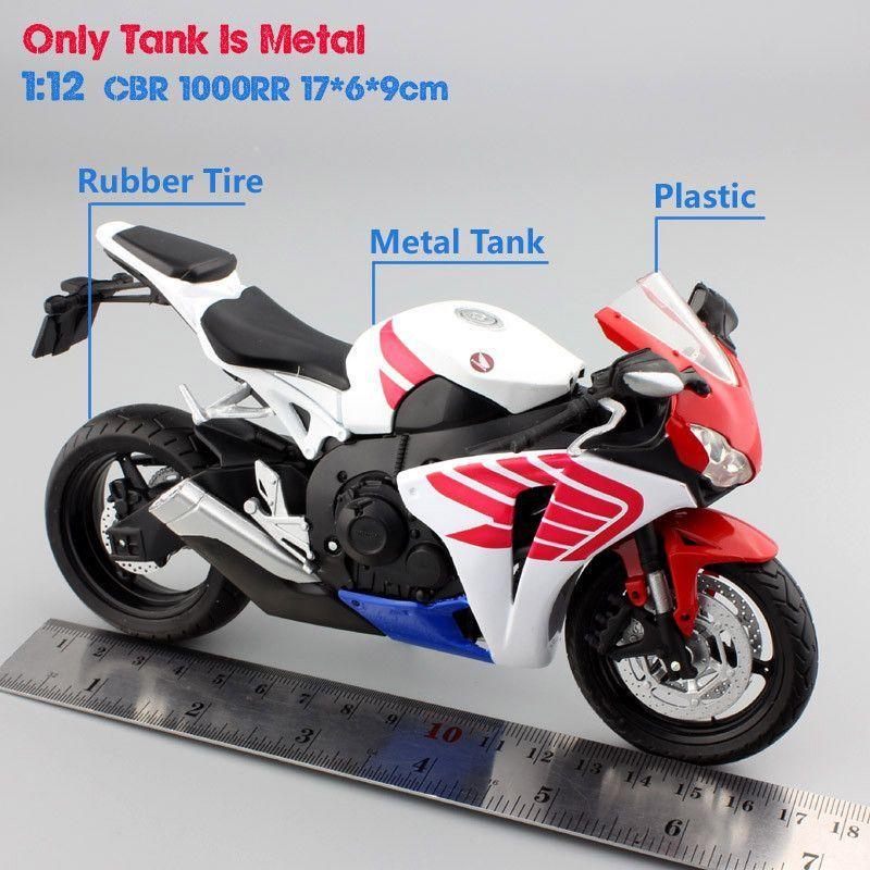 HONDA CBR1000RR Diecast 1:12 Model Motorcycle Bike | Products ...
