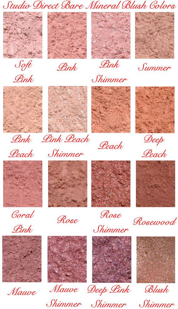Bare Mineral Natural Blush Makeup Pure by