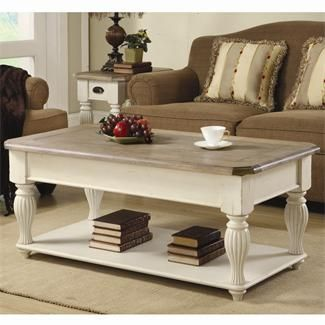 Coventry Lift Top Rectangular Coffee Table I Riverside Furniture