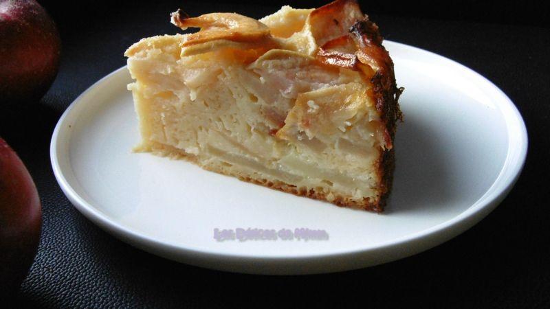 Gâteau-flan aux pommes 6