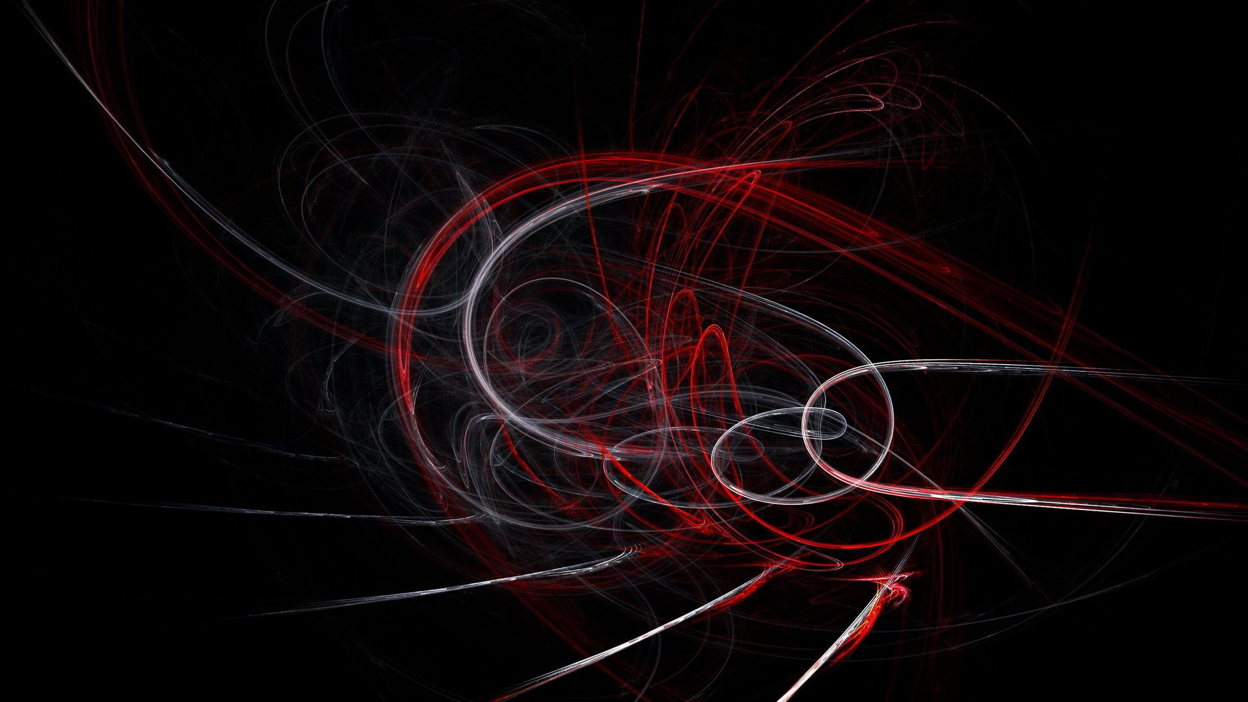 White Red And Black Abstract Digital Wallpaper Abstract Shapes Dark Lines Digital Art 2k Wallpaper Hdwallpap Digital Wallpaper Black Abstract Abstract