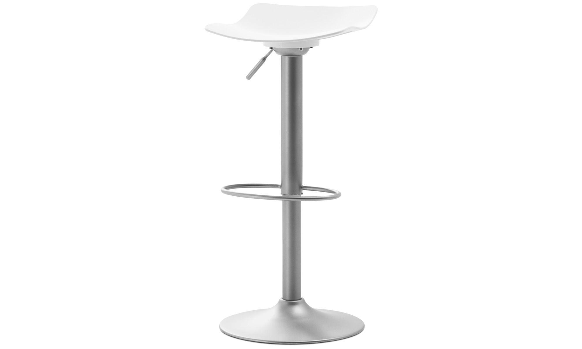 Barstools Torup Barstool With Gas Cartridge White Plastic Bar Stools Contemporary Bar Stools Modern Bar Stools