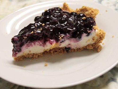 ... | Blueberry cream cheese pie, Cream and No bake blueberry cheesecake