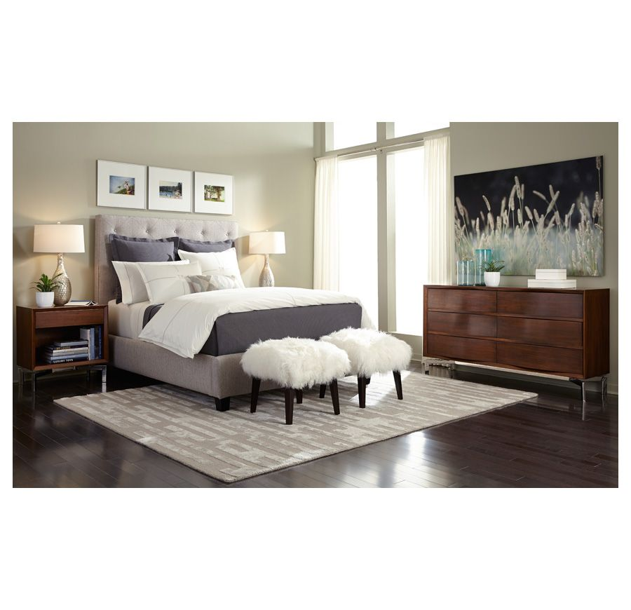 Layla Bed Mitchell Gold Bob Williams Furniture Home