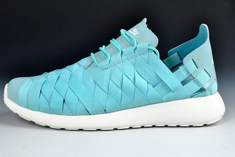 507364fba2e4 coupon for blue and green nike roshe run shoes 65033 78225  australia mint  green nike roshe run woven d67ff 19f6f