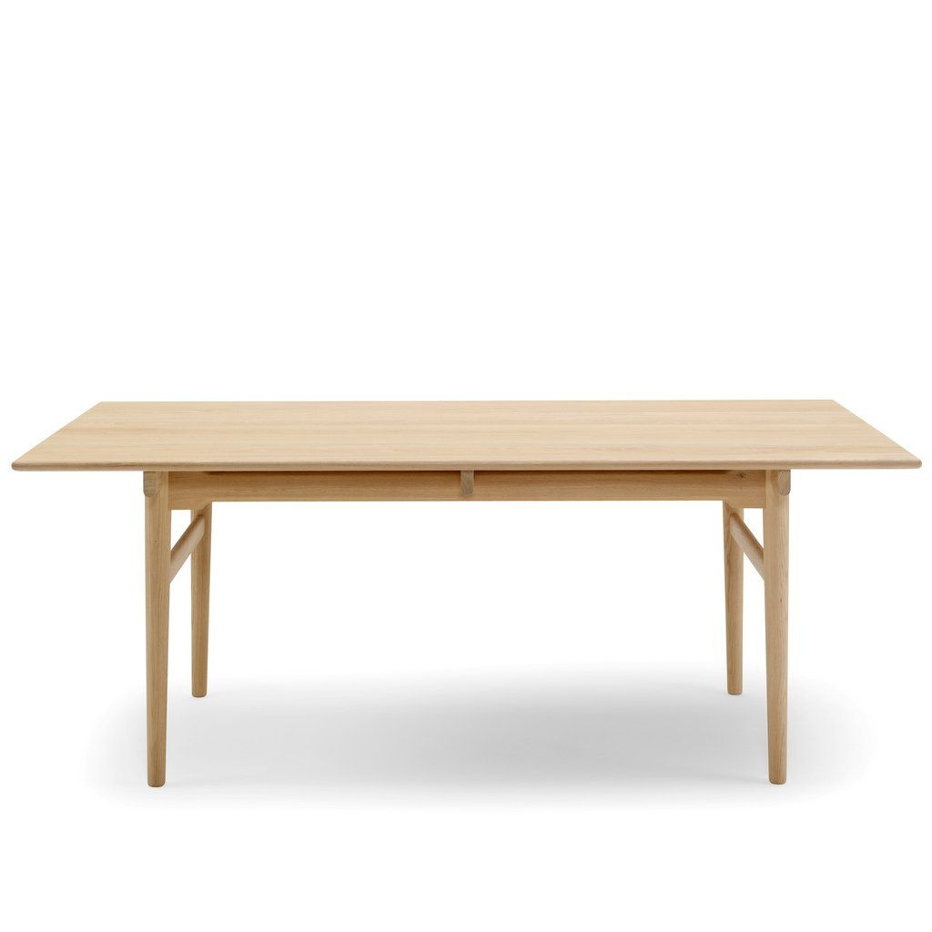 Ch327 Dining Table By Carl Hansen Son In 2020 Dining Table