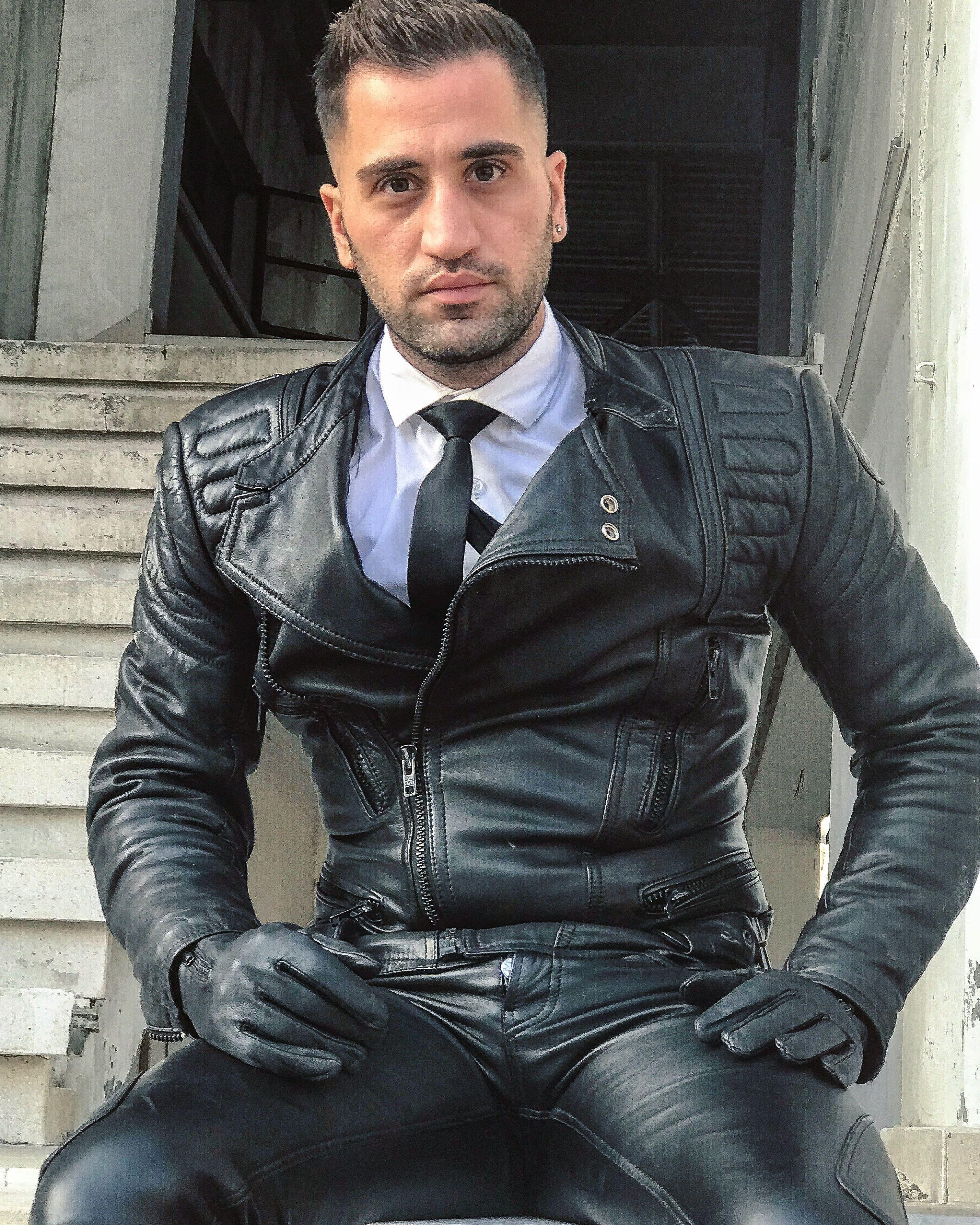 911b10c2ccd7 Mode Homme, Mode Du Cuir, Du Cuir Et Des Hommes, Pantalons En Cuir