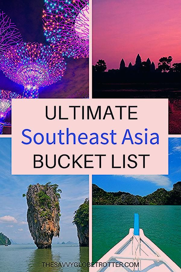 Photo of The Ultimate Southeast Asia Bucket List: 100+ AMAZING Things to Do