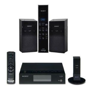 Sony ALTUS S-AIR Bundle: Wireless Audio Delivery System, Universal Audio Receiver, Digital Transmitter, Wireless Speaker System and Digital Remote. ALT-A33PC + ALT-SA34R