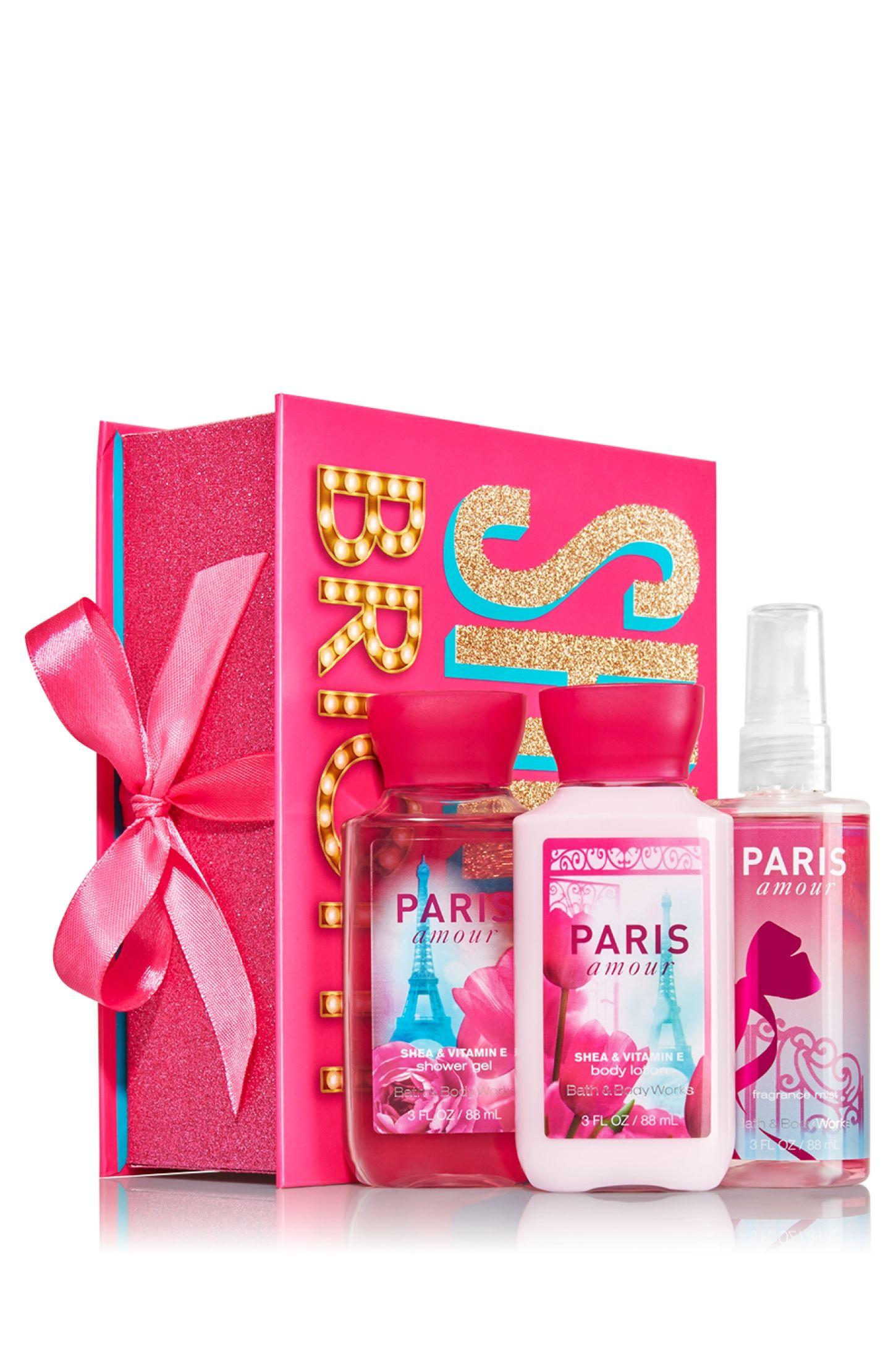 Paris amour mini merry bright gift set signature