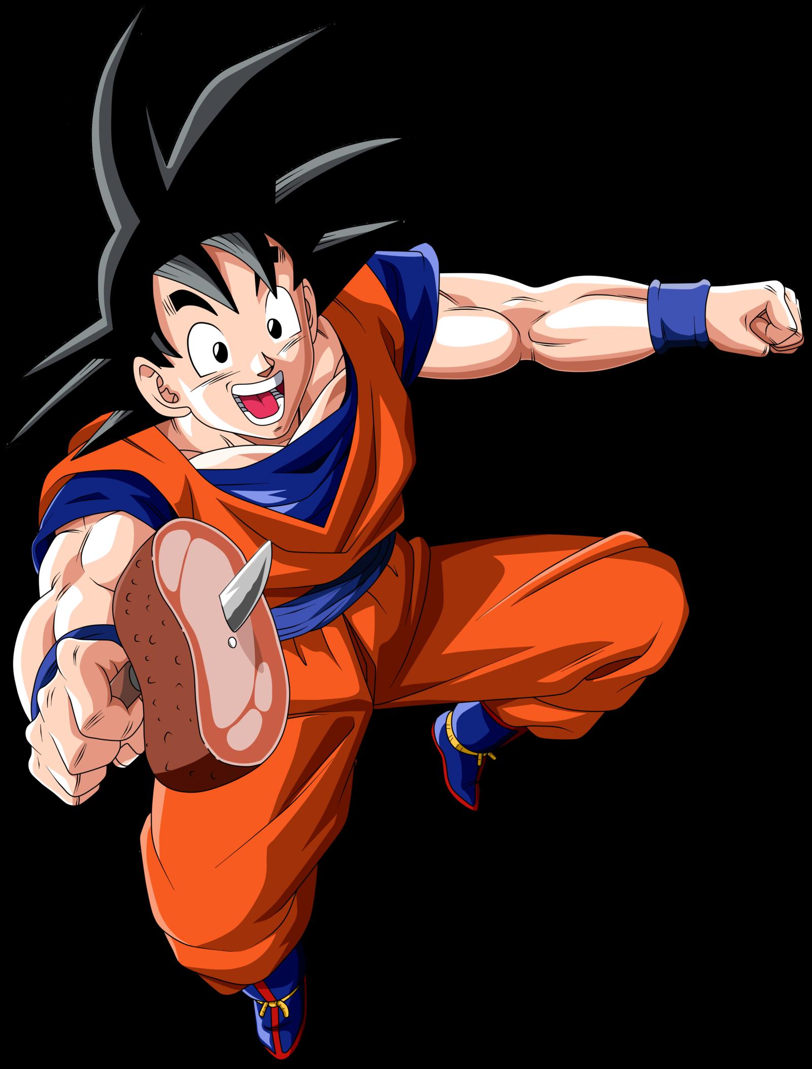 Kid Goku vs. Goku SSJ3 by orco05 on DeviantArt | Dragon Ball (Z ...