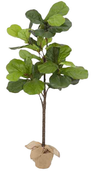Faux Potted Fiddle Leaf Tree See More At Https Www