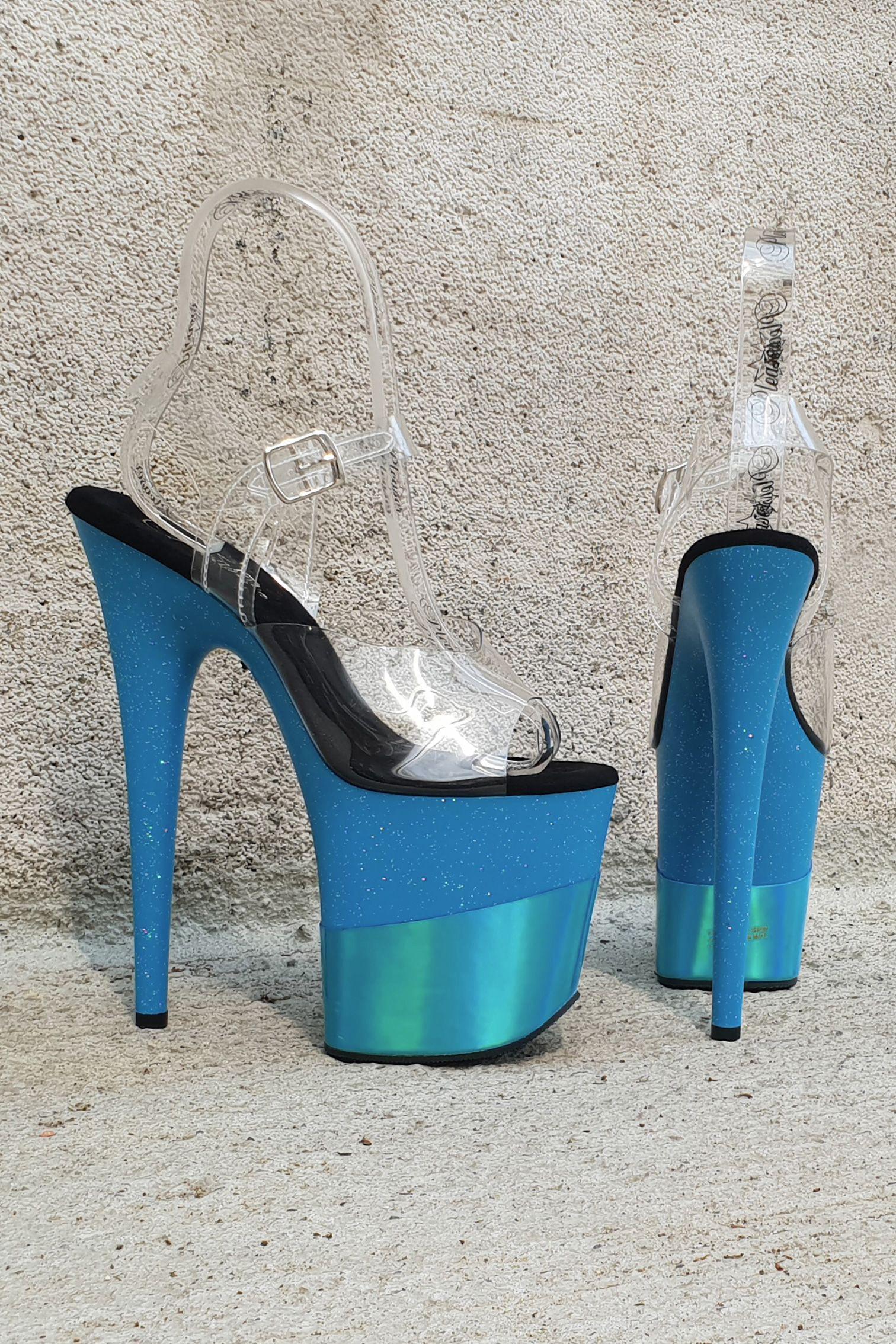 High Heels | Alba Moda Plateau High Heel Sandalette Pink