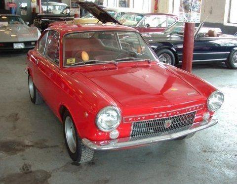 Rare 1968 Fiat Abarth 1300 Coupe In Mn Fiat Abarth Fiat