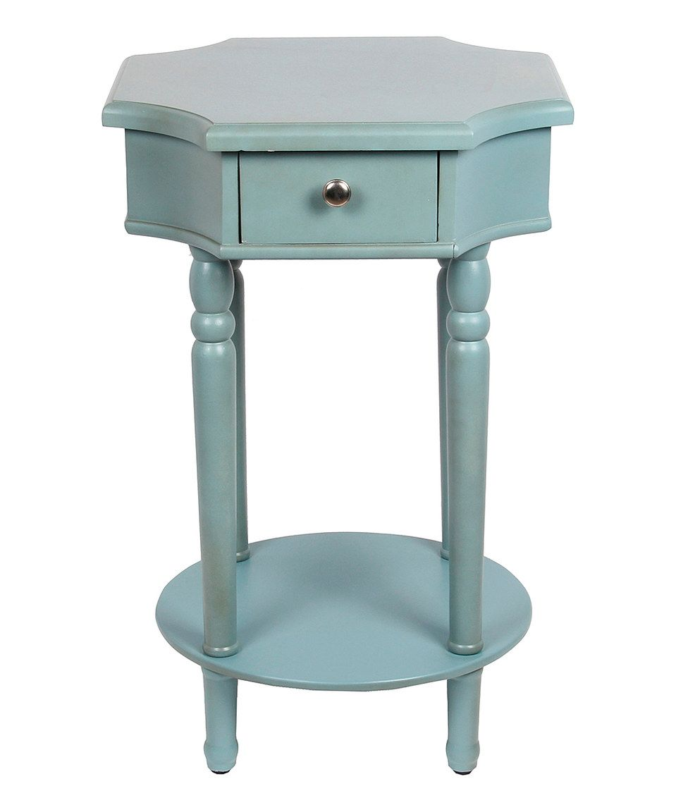 Love This Sage Octagon Accent Stand By Privilege On #zulily! #zulilyfinds
