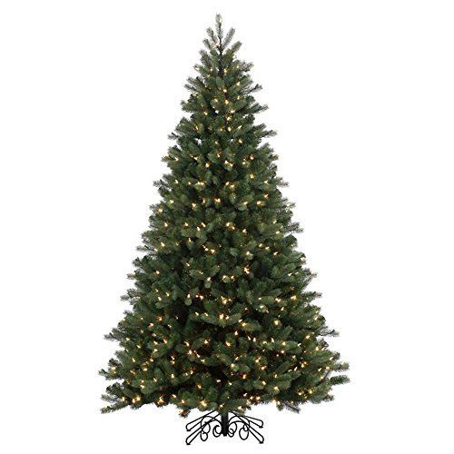 Vickerman Noble Spruce Instant Shape Artificial Christmas Tree with 500 Warm White LED Lights