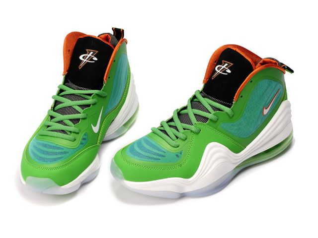 Shoes on Sale Online 2013 Air Penny Hardaway 5 V White Green Red