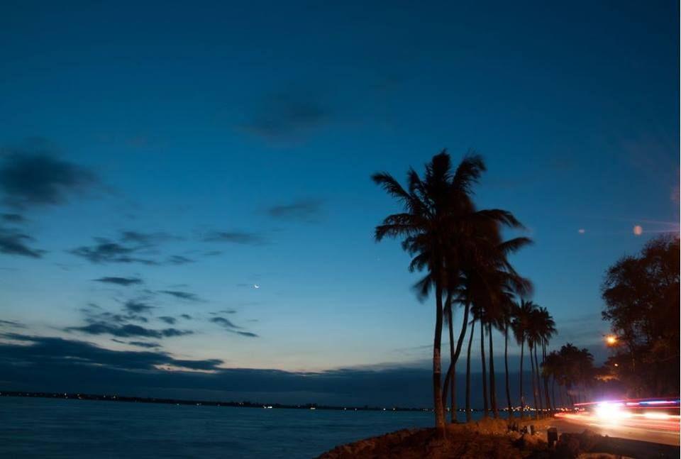 Cidade de Maputo com a Baía Espírito Santo