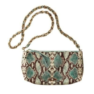 TravelSmith Women's Elliott Lucca Exotic Three-Way Convertible Clutch