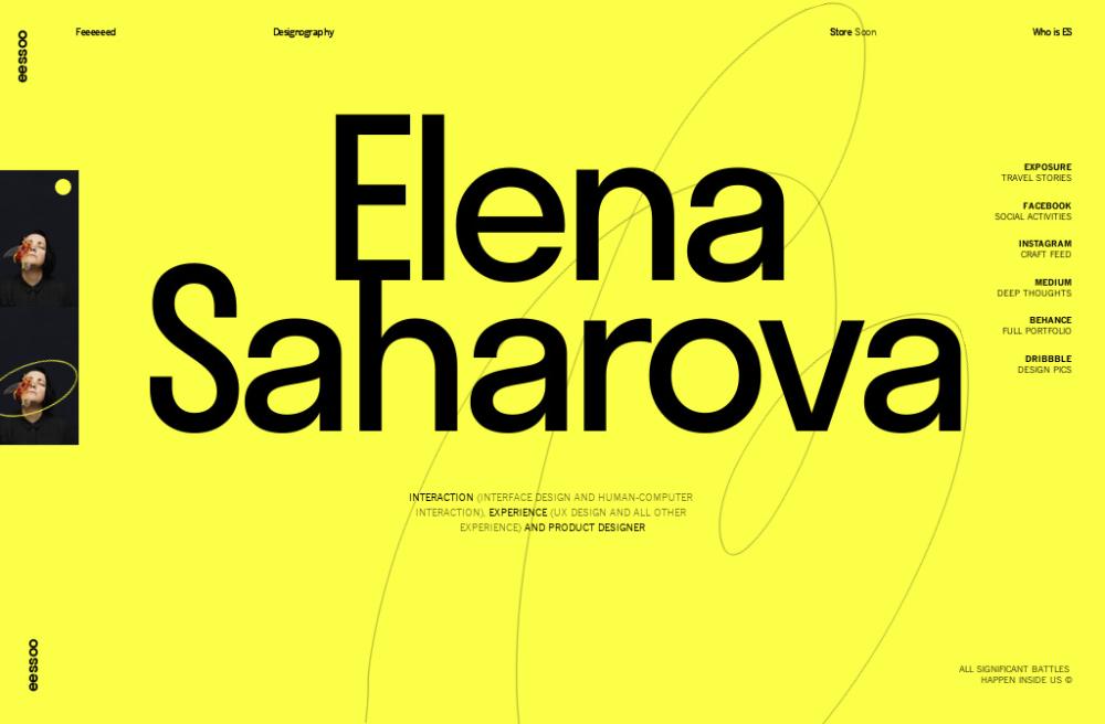 Elena Saharova Human Computer Interactive Interface Design